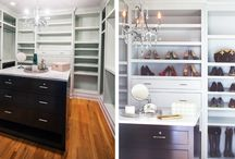 Classic Closets / Highlighting and exploring beautiful closets...a girl's best friend!