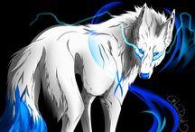 Арты волков