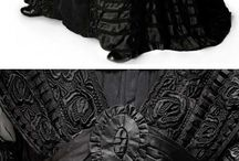 Edwardian Dress - Silhouette and Mourning