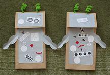 Activity Box - Robots