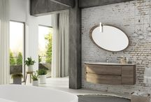 Freedom, mobili da bagno design, moderni, sospesi