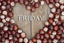 TGI Friday / Glad the working week is done, good things about #friday, looking forward to the #weekend!