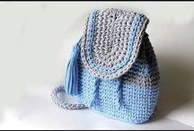 Рюкзак из трикотажной ленты