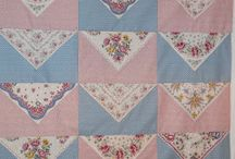 Quilts - handkerchief, repurposed / by Cindy Peterson
