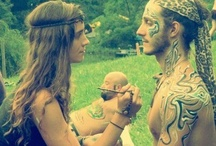 Hippie life.