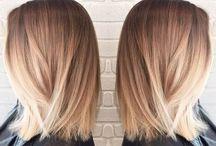 Cheveux couleur