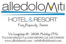 Hotel Alle Dolomiti / nel cuore del Trentino... preziosa perla in più prezioso scrigno, tra le Dolomiti di Brenta e il Lago di Molveno