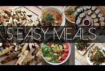 Voller Magen ohne Tierwehklagen ;) / vegane Hauptgerichte