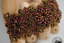 Beadwork - bracelets / by Jill Wood