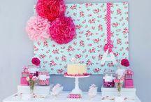decorações de aniversários