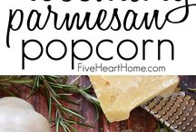 Playful popcorn / Popcorn recipes that will make you jump (pop) with joy.