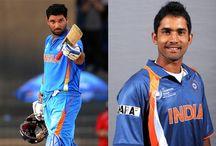 Yuvi, Karthik get record price at IPL7 auction