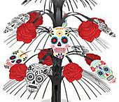 """Dia De Los Muertos """"Day of The Dead"""" / Get ready for Dia de Muertos with help from us. This traditional Mexican holiday, which falls on Halloween and the days after it, is a time for people to honor their deceased family."""