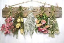 tableros con flores