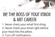 Organizing Tips for Artists / by Art Biz Coach
