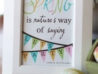 Spring time  / by Kimmie Gallette Ciccone