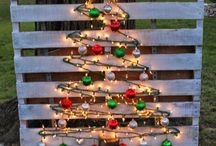 Christmas pallet projects