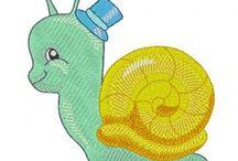 Playful snails