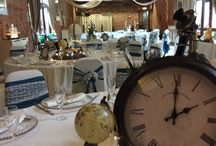 Steam punk / An eclectic theme that looked stunning against our traditional brickwork