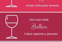 Le Eno-guidine - Mini Wine Guide / Una serie di infografiche per degustare il vino con consapevolezza  How to taste wine without making mistakes