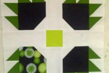 Block of the Month, Quilt Alongs / Modern block of the month, quilting