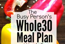 Meal plan week 1