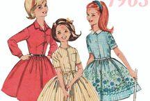 girls vintage patt