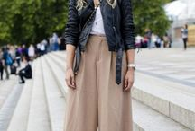 Culotte Creations / How to wear this fall's culotte trend