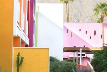 Relaxing in Palm Springs