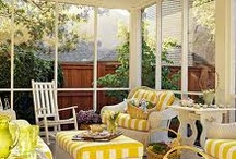 Screened in porch / by Jenny Hudson