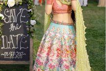 Bride dress background