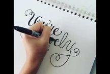 DIY: Calligraphy