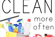 Cleaning / by Stephanie Shattuck