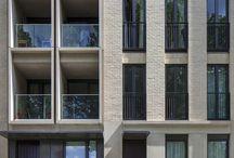 square facade