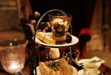 Afternoon tea / Afternoon tea ideas. Luxury indulgence in London and England
