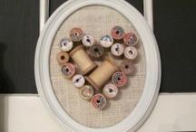 Wooden cotton spools