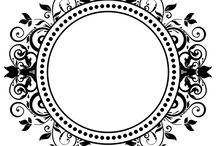 Monogramas / Monogramas e Brasões para baixar grátis (drive.google.com) - identidade visual para casamentos, aniversarios e festas