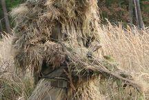 Маскировочный охотничий костюм