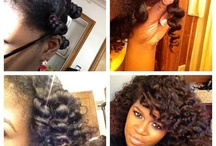 Natural Hairstyles / by Amber Charnise