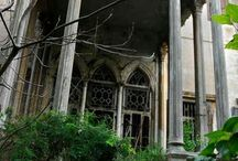 Abandoned / abandoned homes / by Judy Did It