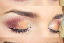 Make-up for bleu eyes