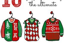 Ugly Sweater Party! / by Dominique Cruz-Soth