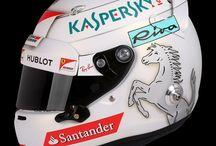 F1 2017 Vettel Helmets