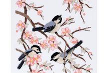 Borduren vogels