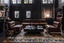 Home / Interior - Living room / More inspiration on Ringthebelle >> http://rngtbl.com/2ohCLpd   #home #interior #design #isnpiration #deco #decoration #livingroom #coach #sofa