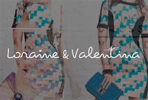 Loraine & Valentina / #fashion #young #ladies