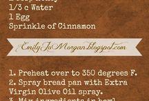Recipes ~ 21 Day Fix/Portion Fix