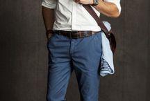 man's work attire
