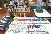 watercolor love