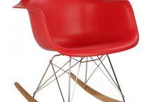 Plastic Rocking Chair / http://www.emoderndecor.com/